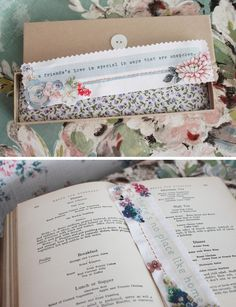 linen bookmarks   available from  https://www.etsy.com/shop/vickytrainor