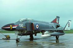 XV587R-010 Phantom FG.1 892 Naval Air Squadron, RAF Leuchars. by Stuart Freer - Touchdown Aviation,