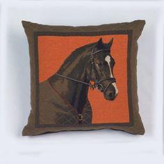 Coussin Concerto cheval 45x45