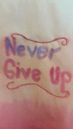 Never give up quotes typography/ Monoprint/ free- hand stitching part of a quoted dress