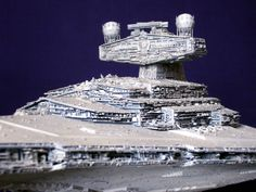 mpc Plastic Modelkit Imperial Star Destroyer by どろぼうひげ