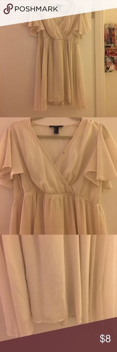 Forever 21 fit and flare flowy dress Forever 21 fit and flare flowy dress excellent used condition Forever 21 Dresses Mini