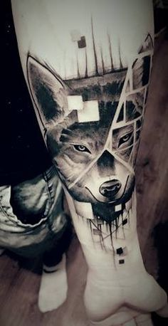 My Tattoo :) #wolf #best #amazing