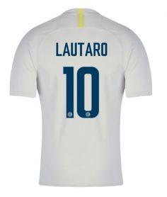 7c90c6c6b 2018-19 Inter Milan 2nd Away Light Gray  10 ( LAUTARO) Thailand Soccer  Jersey AAA