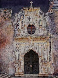 Soon Warrern - Interior and Landscape  watercolors