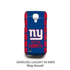 New York Giants Samsung Galaxy S4 Mini Case Wrap Around