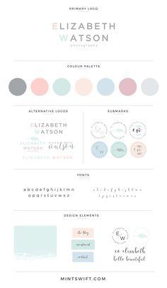 Graphic Design Tips, Logo Design Inspiration, Color Inspiration, Web Design, Collateral Design, Identity Design, Branding Kit, Branding Ideas, Brand Style Guide