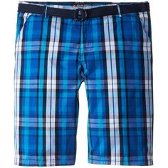 Southpole Men's Big-Tall Shorts with Matching Color Belt and Fine... ($23) ❤ liked on Polyvore featuring men's fashion, men's clothing, men's shorts, mens big and tall shorts, mens shorts, mens clothing, big & tall men's clothing and big and tall mens clothing