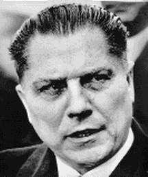 Jimmy Hoffa - Brazil, IN - Teamsters labor union leader - missing since 7/30/75 - declared legally dead 7/30/82
