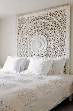 Chambre à coucher:grandes idées déco pour des tête de lit fabuleuses