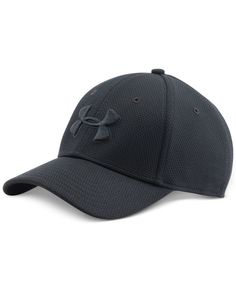 Under Armour Men's Blitzing Ii Stretch-Fit HeatGear Hat Under Armour Shoes, Under Armour Men, Neon Nike Shoes, Best Caps, Ankle Boots Men, Leather Hats, Cool Hats, Hats For Men, Baseball Caps
