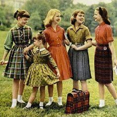 Sheehan girls uniforms.