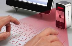 25 Amazing Gadgets To Make Your Life More Interesting, Virtual Keyboard