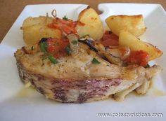 Peixe Assado à Padeiro, Receitas culinárias de Portugal - Rotas Turísticas