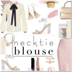 Necktie Blouse