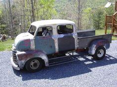 Pics of a 47-54 crew cab??? - The 1947 - Present Chevrolet & GMC Truck Message Board Network