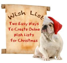 Blog post at Smart ~ Happy ~ Organized : How to create  Pinterest Wish List and an Amazon Wish List