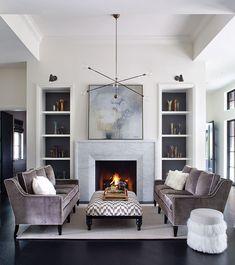 26 gorgeous grey living room ideas ~ Home Design Examples Living Room Grey, Home And Living, Living Room Decor, Modern Living, Cottage Living, Coastal Cottage, London Decor, Dressing Room Design, Stylish Bedroom