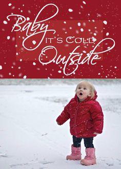 Christmas Photo Card by KADdesignsforlove on Etsy, $17.00