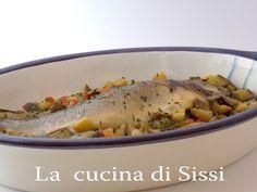 SPIGOLA CON CARCIOFI  E MELANZANE http://blog.giallozafferano.it/cucinasissi/spigola-carciofi-melanzane/