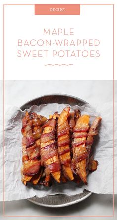 Want a great way to eat healthy veggies and make them taste amazing? Try this Chili-Maple Bacon-Wrapped Sweet Potato Recipe. Your whole family will love it!