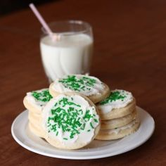 Soft Sugar Cookies by alimentageuse