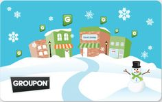 Gift Cards - Great for all of those looking to give a card so they can save later on many great deals on Groupon!