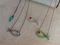 Montserrat Lacomba. Pendants. Sparkling Fishes. Summer 2013.