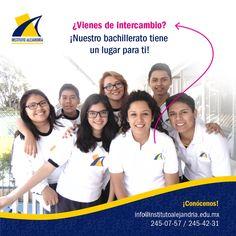 Para ti que vienes de intercambio a Puebla, México, tenemos un lugar especial en nuestro bachillerato.