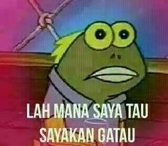New Memes Spongebob Tapi Boong Ideas Funny Cute Memes, Memes Funny Faces, Funny Texts, Memes Spongebob, Cartoon Jokes, Spongebob Squarepants, All Meme, New Memes, Super Memes