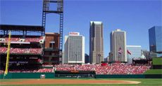 Downtown next to Busch Stadium and Ballpark Village, the Hilton St. Louis at the Ballpark hotel has room views of the Cardinals and Three Sixty rooftop bar. Security Conference, St Louis Hotels, Busch Stadium, Rooftop Bar, 4 Star Hotels, Baseball Field, Great Places, Missouri
