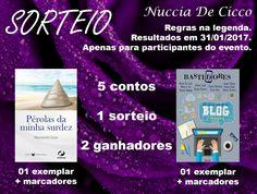 Blog As 1001 Nuccias - contos da autora Nuccia De Cicco gratuitos no dia 28/01/2017, niver da autora.