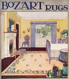 1918 Bozart Rugs by American Vintage Home, via Flickr