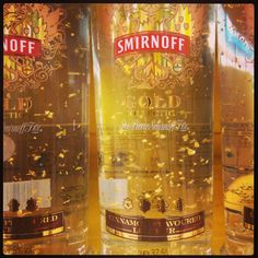 Smirnoff Gold ..... Cinnamon (yuk) Flavour!  Looks delicious but I dont like cinnamon!!