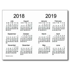 Download a free Printable 2018 Yearly Calendar from