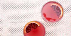 blood orange gimlet