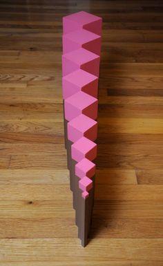 Montessori Story: Free Pink Tower/Brown Stair Extensions, Part 2 Maria Montessori, Montessori Practical Life, Montessori Preschool, Montessori Education, Preschool Activities, Extensions, Barn, Forest School, School Play