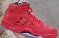 Look For The Air Jordan 5 Red Suede This Summer