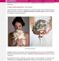 Atelier Andrea Figueiredo: Buquê de Broches recomendado pela Zankyou