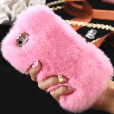 Our ultra soft D'Luxe fur case is so fluffy and luxe, its sure to add glamour to…