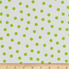 Oil Cloth Polka Dot White/Lime Green$6.98 Sewing Crafts, Sewing Projects, Art Easel, Laminated Fabric, Oil Shop, Vinyl Fabric, Chalkboard Art, Home Decor Fabric, Sewing Notions