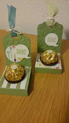Komm doch lieber Frühling...blumige Ferrero Rocher Verpackung