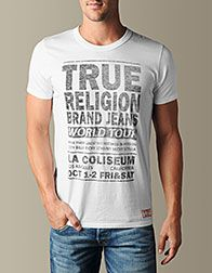 True Religion Mens T-Shirts - Tees for Men