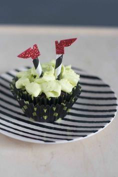 wicked witch of the west cupcakes