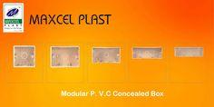 Modular P. V.C Concealed Box