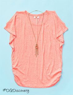 Find This Cute Top And Necklace At Dollar General Share Your Finds With Us Using