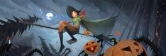 Special Halloween Art for the Banner Saga community Halloween Alette All Hallows Eve 2, Banner Saga, Character Inspiration, Character Design, Time Painting, Fantasy Rpg, Halloween Art, Cool Artwork, Amazing Artwork