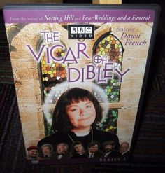 THE VICAR OF DIBLEY DVD, THE COMPLETE SERIES 1 - BBC VIDEO DAWN FRENCH, GUC