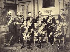 9 kings featured in one photo (Windsor Castle, 20 May 1910)