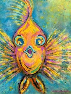 Look at ways colors may be used to su… Florida Tropical Fish – Chris Keast-Woyde. Look at ways colors may be used to suggest movement. Desenhos Van Gogh, Wal Art, Watercolor Fish, Ocean Art, Ocean Life, Tropical Fish, Colorful Fish, Summer Art, Art Plastique